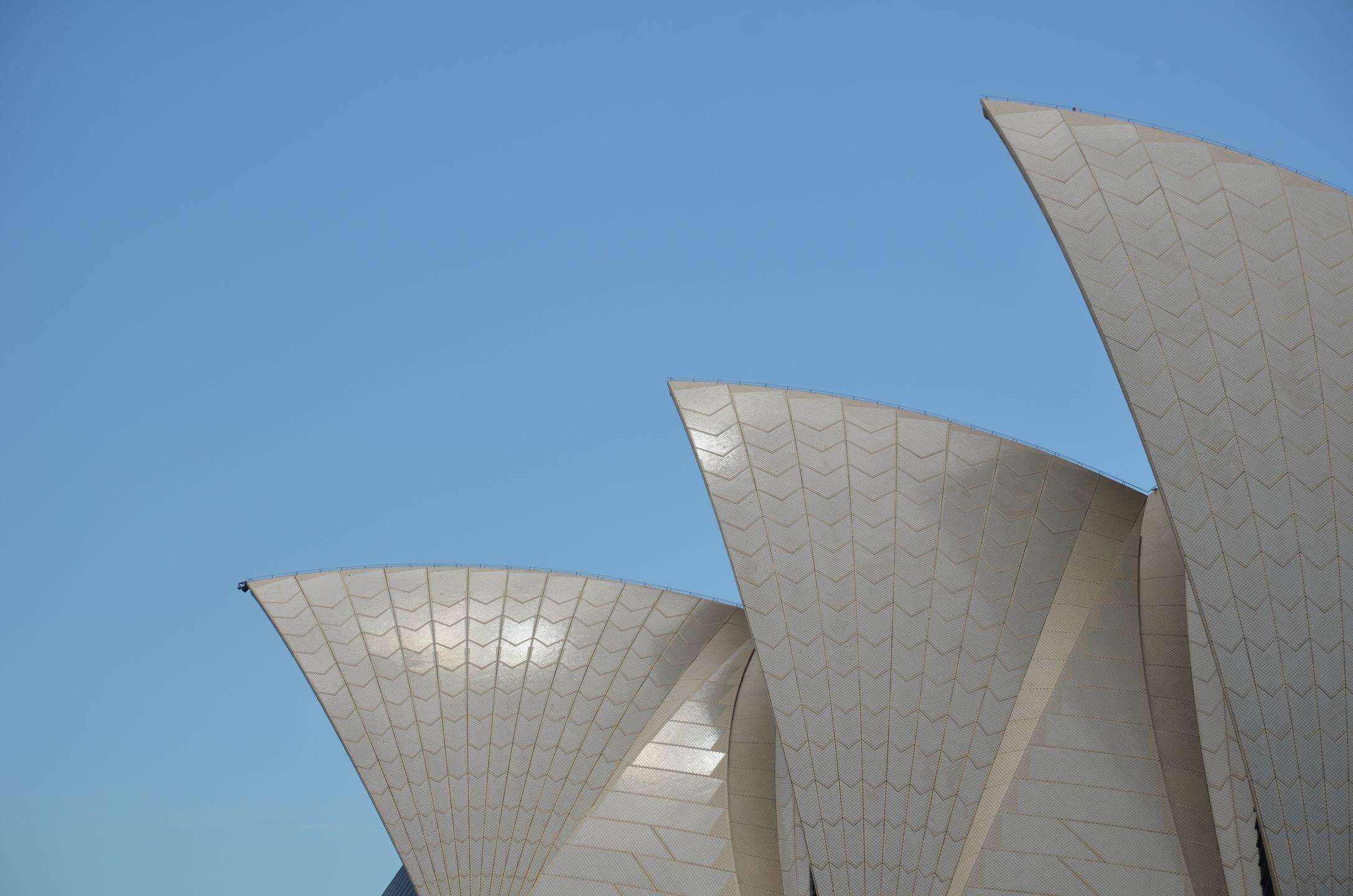 Sydney-Opéra toit
